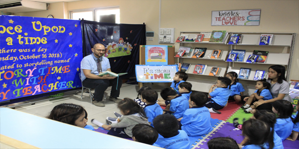 Library holds Storytelling Program