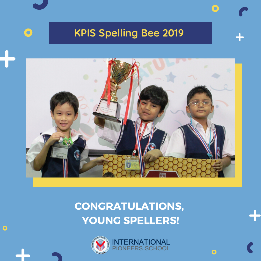 IPS Competes in KPIS Spelling Bee 2019